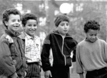 © Enfants jouant au ballon, bagatelle. Collection Hafid El Alaoui. D.R.